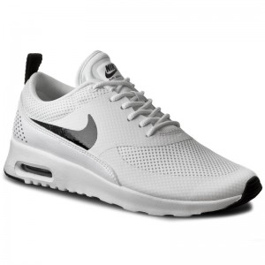 dd7347e4794 Boty NIKE - Air Max Thea 599409 103 White Black