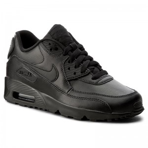 Boty NIKE Air Max 90 Ltr (GS) 833412 001 Black Black 8b85909546