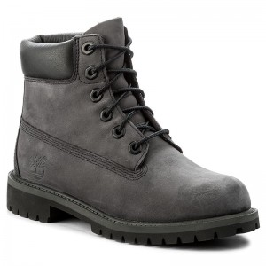 Turistická obuv TIMBERLAND - 6 In Premium Wp Boot A1O7Q Forged Iron 15047edf59