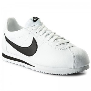 9d1935ddf0d Boty NIKE - Classic Cortez Leather 749571 100 White Black