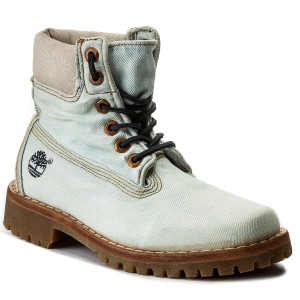 Turistická obuv TIMBERLAND - Ltd Fabric 6 In Lt A1G83 Denim ebe756aab1