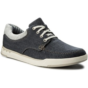 32698ae3b48 Polobotky CLARKS - Step Isle Lace 261327647 Navy Canvas