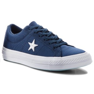 Tenisky CONVERSE One Star Ox 160598C Navy White Ocean Bliss 323f8724cb