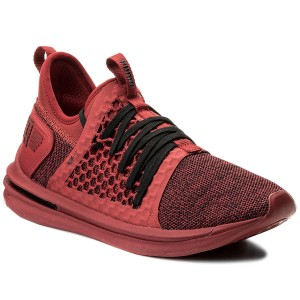81aabed0790 Boty PUMA - Ignite Limitless Sr Netfit 190962 02 Red Dahlia