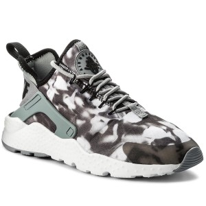 2e0dcad176e Boty NIKE - Air Huarache Run Ultra Print 844880 001 Stealth Black White