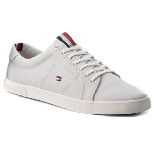 cc7454ddc10 Tenisky TOMMY HILFIGER - Iconic Long Lace Sneaker FM0FM01669 Barely Blue 424