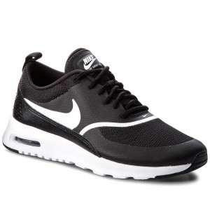 cf99bb308b6 Boty NIKE - Air Max Thea 599409 028 Black White