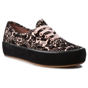 Tenisky VANS Authentic Platfor VN0A3AV8U6O1 (Sidewall Wrap) Suede Ros 521f8a7d03c