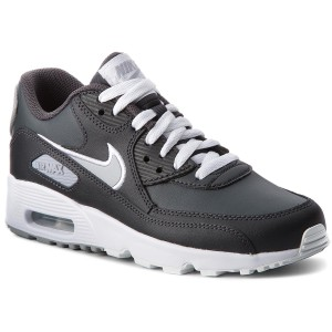 buy online a46fa 65c3a Boty NIKE Air Max 90 Ltr (GS) 833412 021 Anthracite Wolf Grey White
