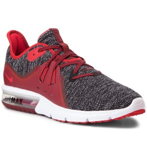 Boty NIKE - Air Max Sequent 3 921694 015 Black University Red White 72e7a19a58