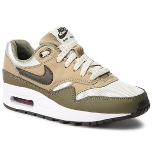 Boty NIKE Air Max 1 (GS) 807602 200 Medium Olive Sequoia b7f4720f394