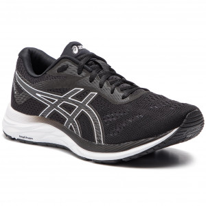 Boty ASICS - Gel-Excite 6 1011A165 Black White 001 8642086f28