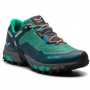Boty SALEWA Speed Beat Gtx GORE-TEX 61339-8631 Shaded Spruce Fluo Coral 718747e3e4