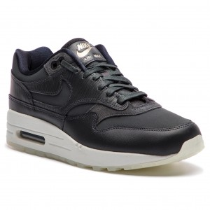 new product 044c4 cb8a8 Boty NIKE - Air Max 1 Prm 454746 016 Anthracite Anthracite Black