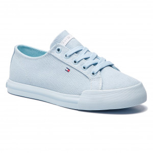 Tenisky TOMMY HILFIGER Pastel Tommy Essential Sneaker FW0FW04067 Omphalodes  FW0FW04067 d7854143f53