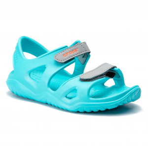 0e654a93878 Sandály CROCS - Swiftwater River Sandal K 204988 Pool