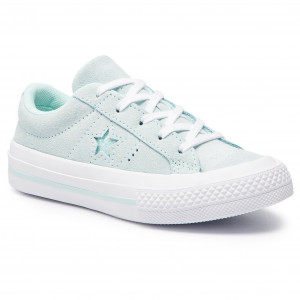 Tenisky CONVERSE One Star Ox 663590C Teal Tint Teal Tint White 4be7643771