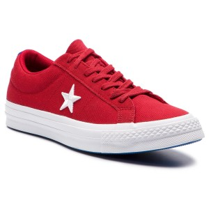 735fa576f58 Tenisky CONVERSE One Star Ox 160595C Gym Red White Hyper Royal
