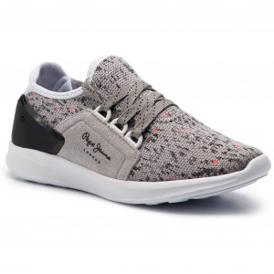 c81cf57034c Sneakersy PEPE JEANS - Jayden Casual Boy PBS30393 Grey 945