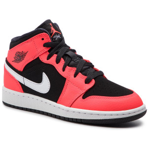 a1eb908f996 Boty NIKE - Air Jordan 1 Mid (GS) 554725 061 Black Infrared 23