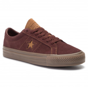 ad19a81e4d Tenisky CONVERSE - One Star Pro Ox Ba 164135C Barkroot Brown Ale