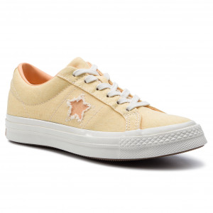 bb04b7199 Tenisky CONVERSE - One Star Ox 164358C Butter Yellow/Melon Baller
