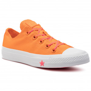 4993f4fa0dc63 Plátěnky CONVERSE Ctas Ox 564115C Orange Rind/Racer Pink/White