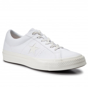 c3c0b1a9048b9 Tenisky CONVERSE One Star Ox 564154C White/Natural Ivory/Egret
